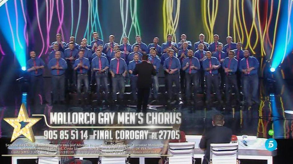 Los Mallorca's gays men chorus llegan pisando fuerte a la semifinal de 'Got Talent'