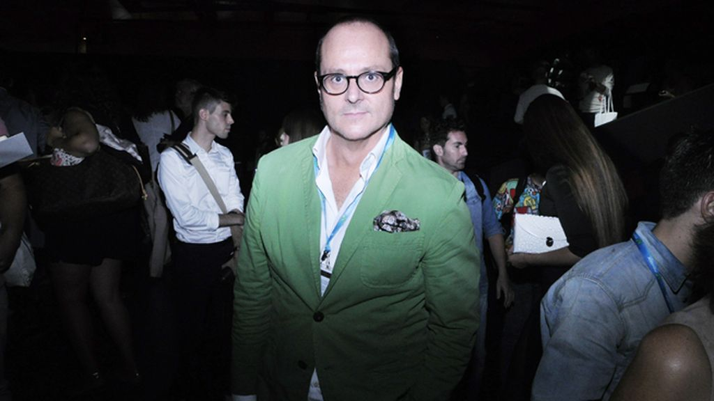 El periodista Nacho Montes, un imprescindible en la Fashion Week