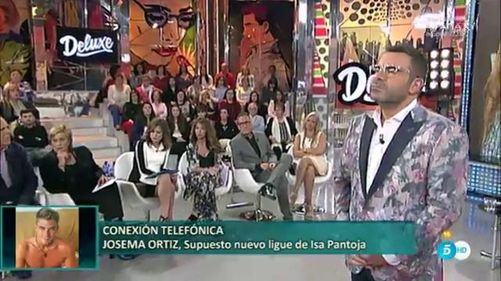 Josema Ortiz, supuesto ligue de Isa Pantoja, aclara todo por teléfono en el 'Deluxe'
