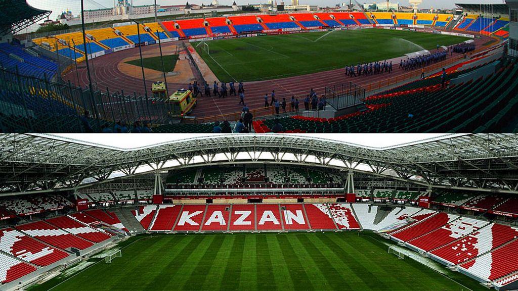 Kazan Arena: El feudo de los tártaros