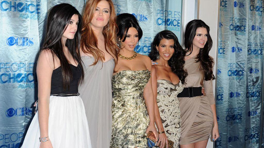 Las Kardashian al completo