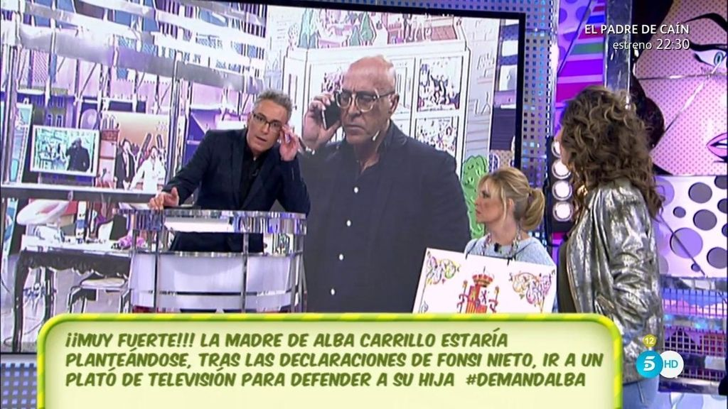 El mensaje en el que Fonsi Nieto le desea lo peor que se puede desear a Alba Carrillo