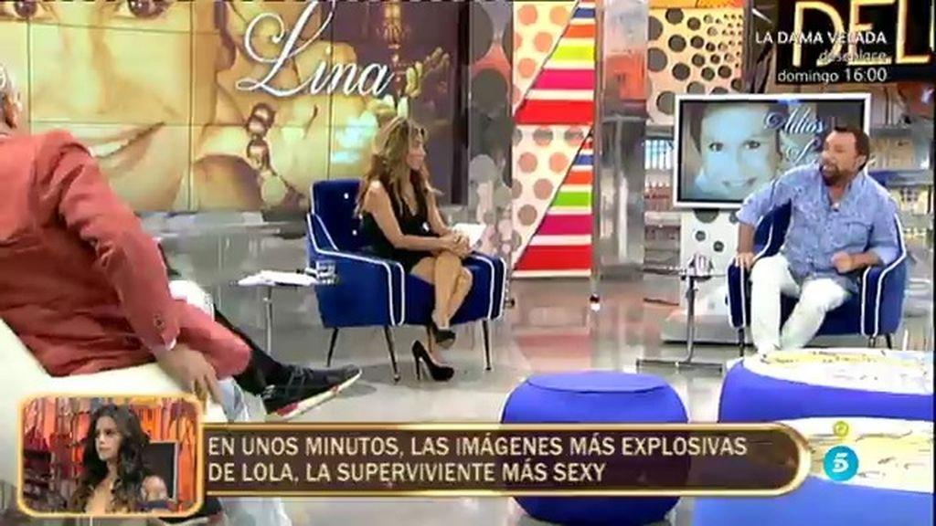 """José Manuel Parada: """"Lina Morgan jamás asimiló la muerte de su hermano"""""""