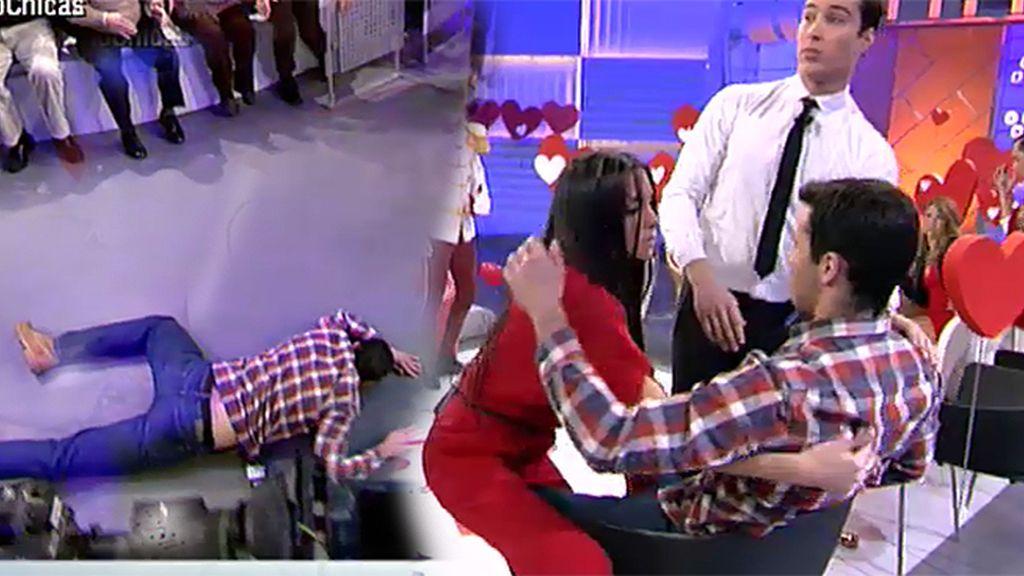 Alberto entra de cabeza a por Samira
