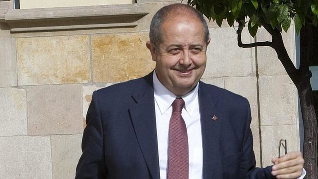 Felipe Puig, consejero de Interior de la Generalitat