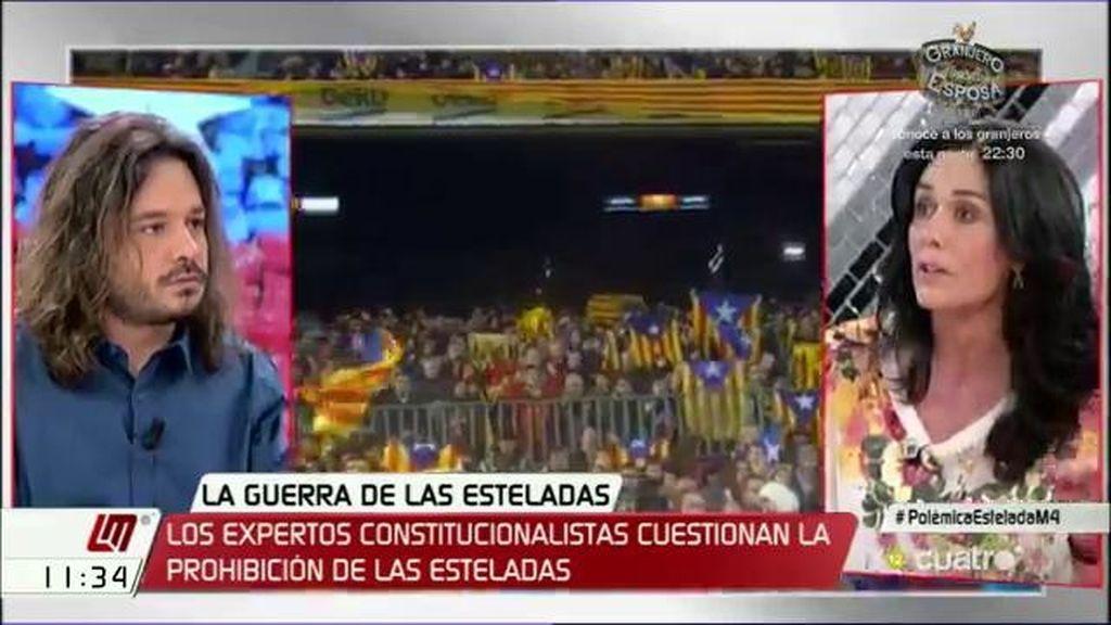 """Miguel Vila (Podemos): """"No se puede equiparar independentismo con terrorismo, que es lo que hace el PP"""""""