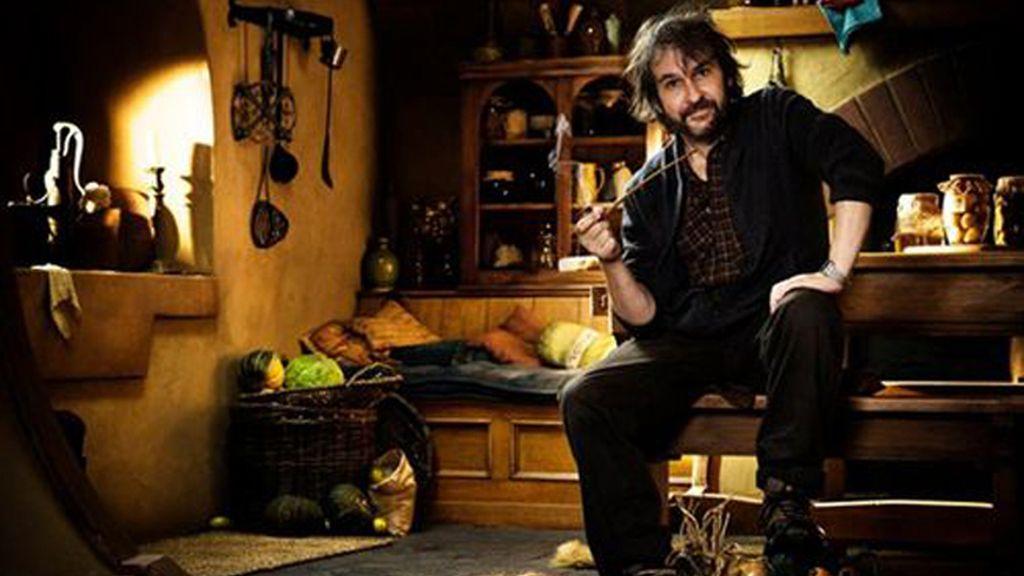Peter Jackson en el set de 'El hobbit'. Foto: Archivo.
