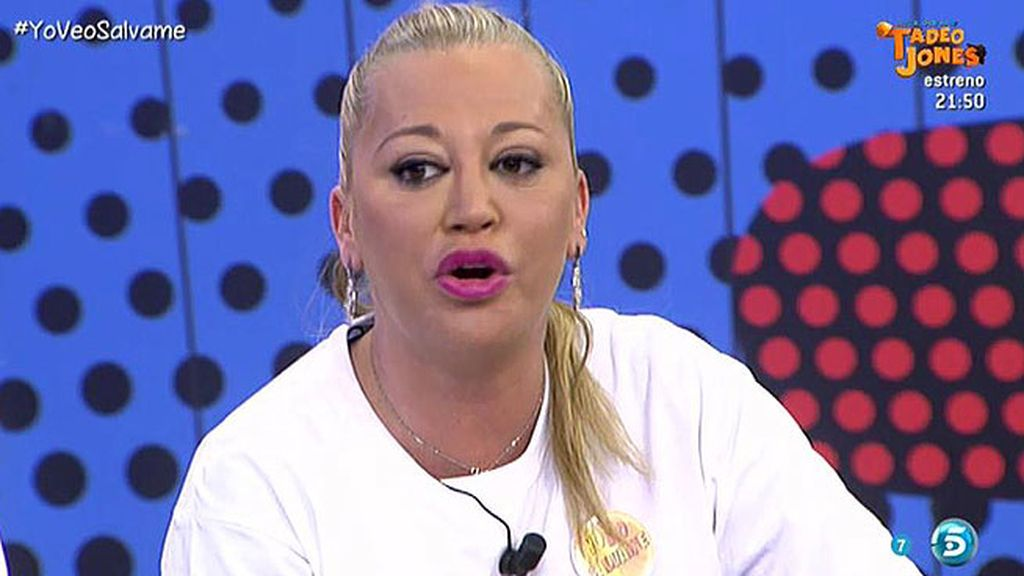 """Belén: """"A un familiar paterno de mi hija ha ganado 4 millones de euros en la Lotería"""""""