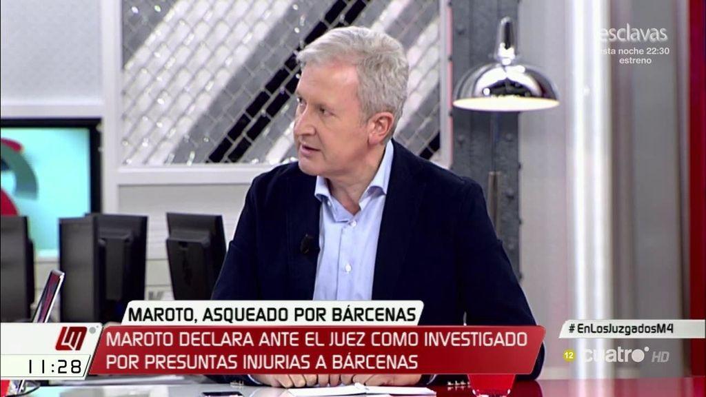 """Emilio del Río, (PP): """"Nos da mucho asco Bárcenas como nos dan mucho asco todos los corruptos que se cuelan en los partidos"""""""