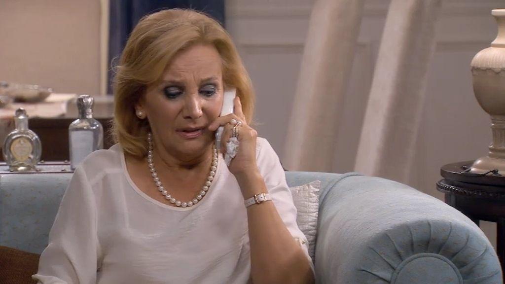 Maruchi llama a los invitados para cancelar la boda de Irene y Rodri