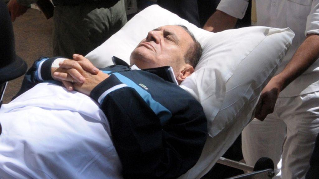 Mubaraka, declarado clínicamente muerto