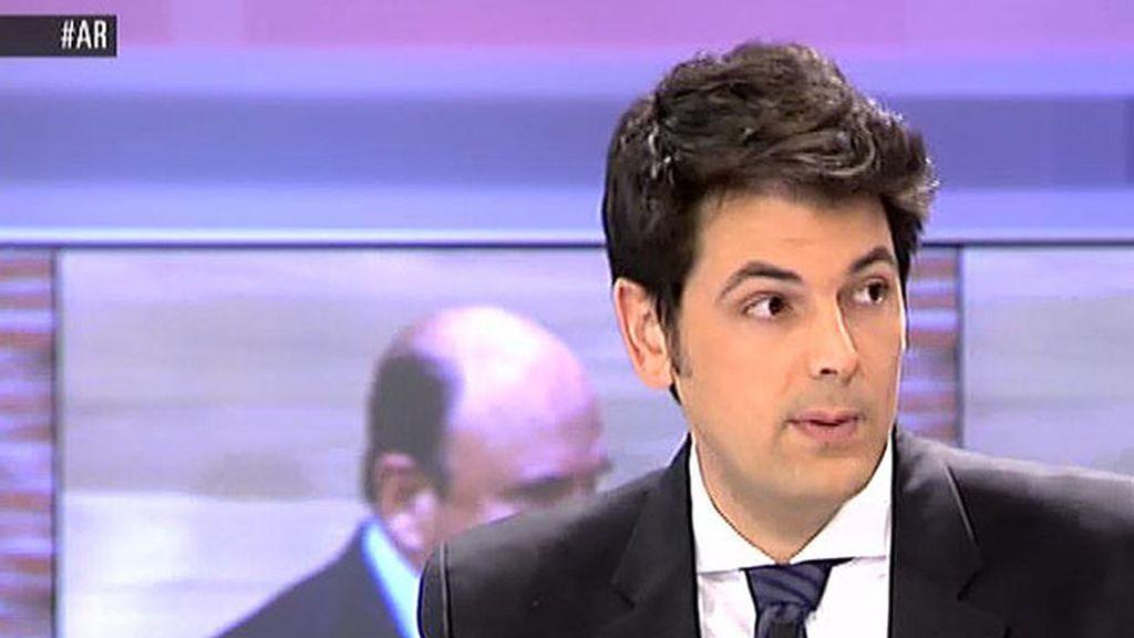 """José M. Olmo: """"Cuando se desvela la 'Lista Falciani', Alonso regresa a España"""""""