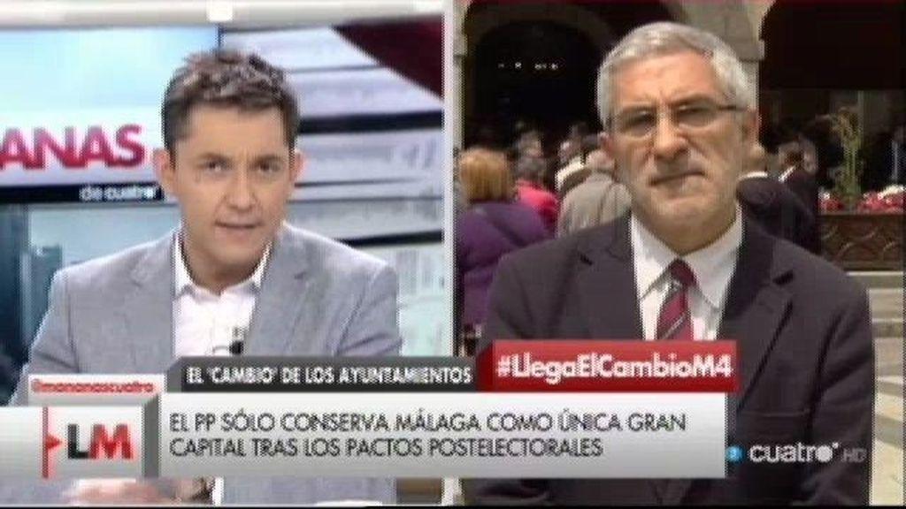 """Gaspar Llamazares: """"Estoy convencido de que IU puede recuperarse"""""""
