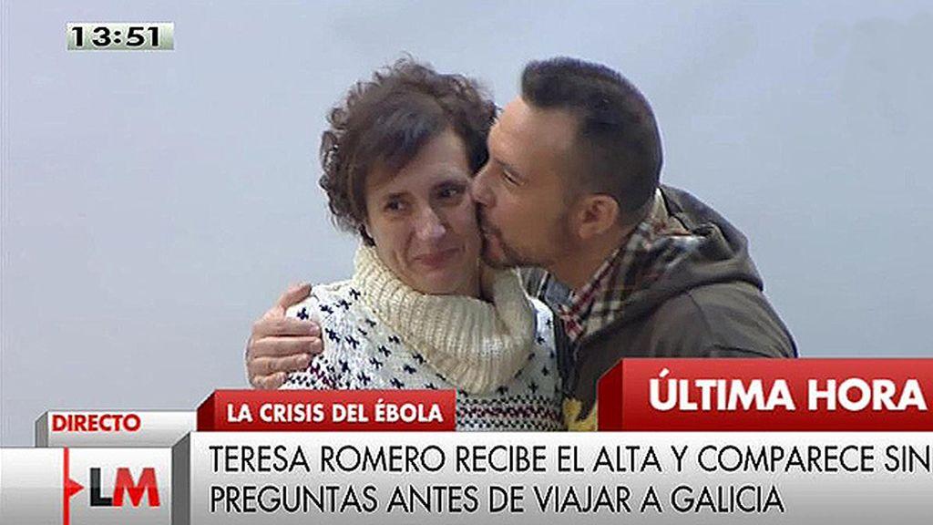 """Teresa Romero:  """"Si con mi sangre se puede curar, aquí estoy hasta quedarme seca"""""""