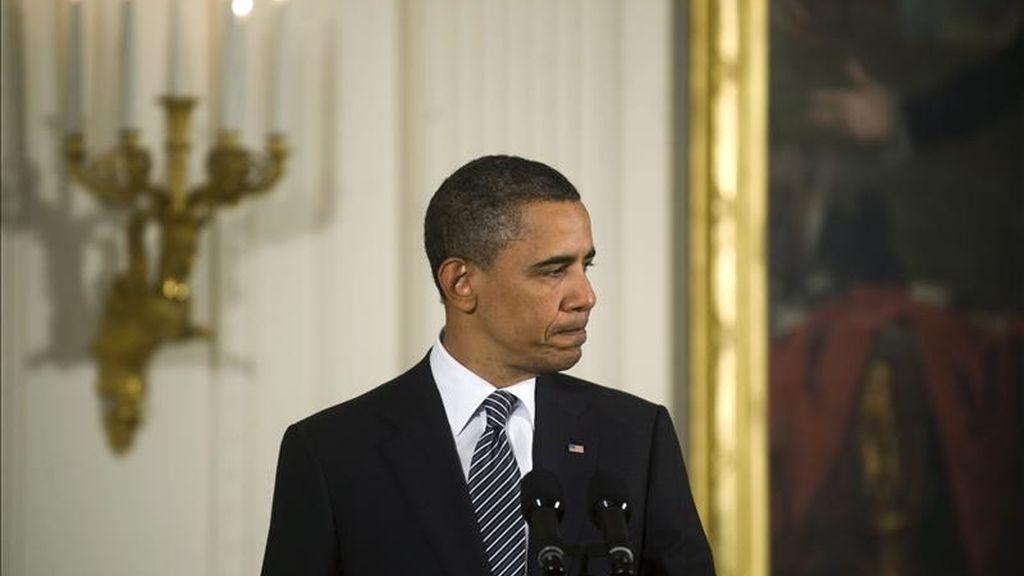 """""""Es importante hacer notar que nuestra cooperación contra el terrorismo con Pakistán nos llevó a Bin Laden y el complejo donde se escondía"""", declaró Obama. EFE"""