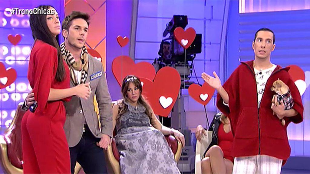 Adrián no acierta con su look de San Valentín