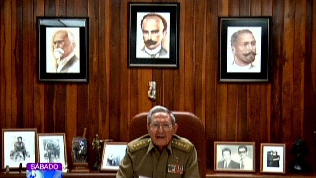 Raúl Castro anuncia el fallecimiento de su hermano Fidel