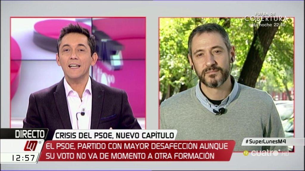 """José Pablo Ferrandiz: """"Si la izquierda quiere gobernar en este país, no les queda más remedio que ponerse de acuerdo"""""""