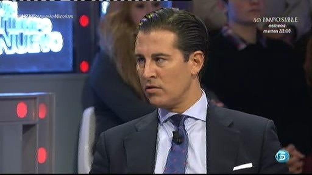 """V. Sunkel, abogado de Francisco Nicolás: """"No es un estafador"""""""