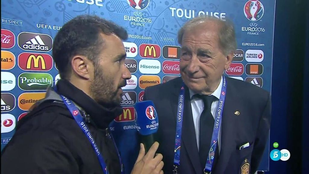 """Toni Grande: """"Hemos optado por De Gea, lo hemos visto muy seguro y confiado"""""""