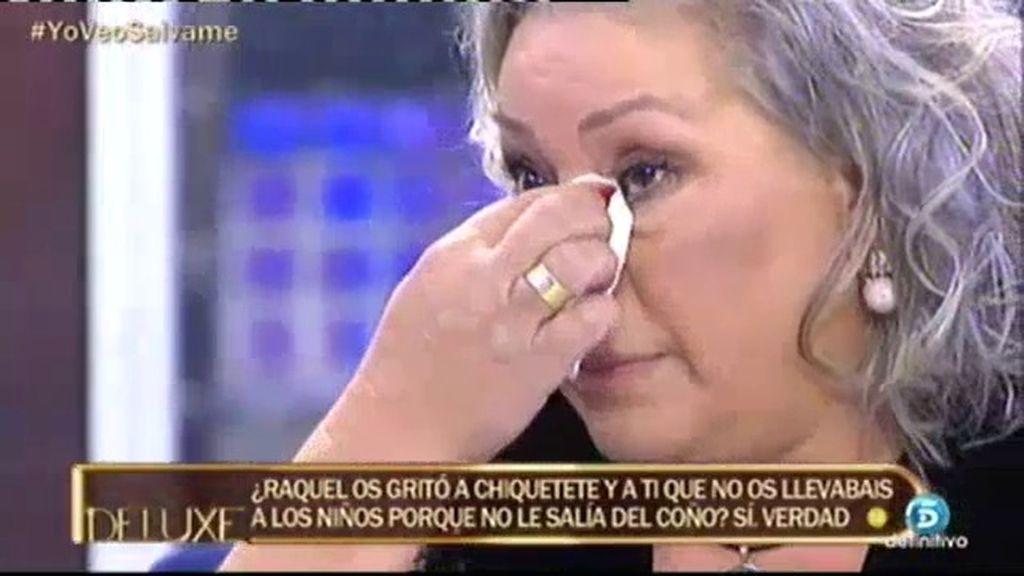 """Carmen Gahona: """"He visto llorar a Chiquetete día tras día. Ha sido muy duro"""""""