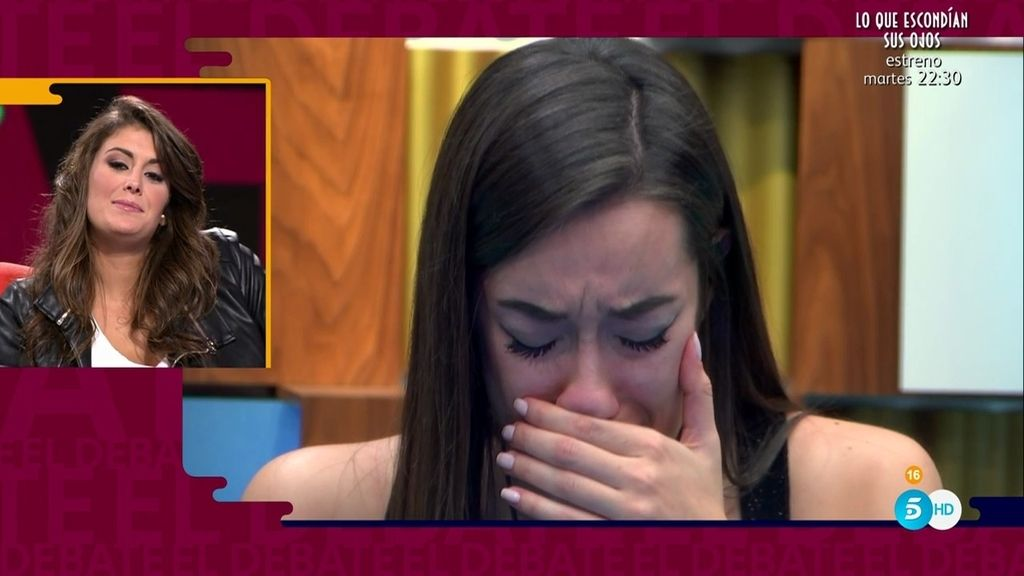 Adara, destrozada tras la despedida de Clara