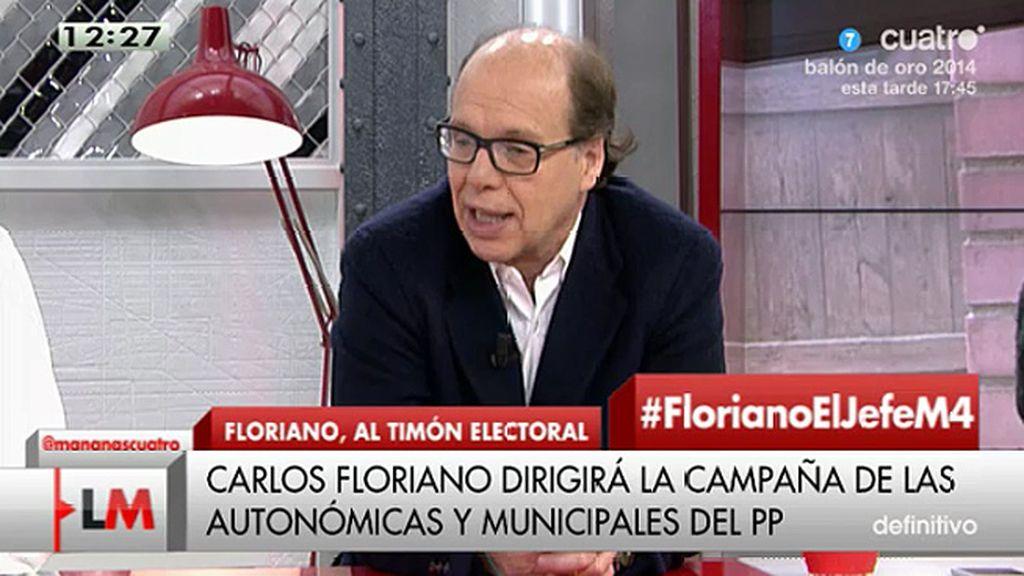 """Jaime González: """"La estrategia del PP es despertar a la militancia agitando el espantajo de Podemos"""""""