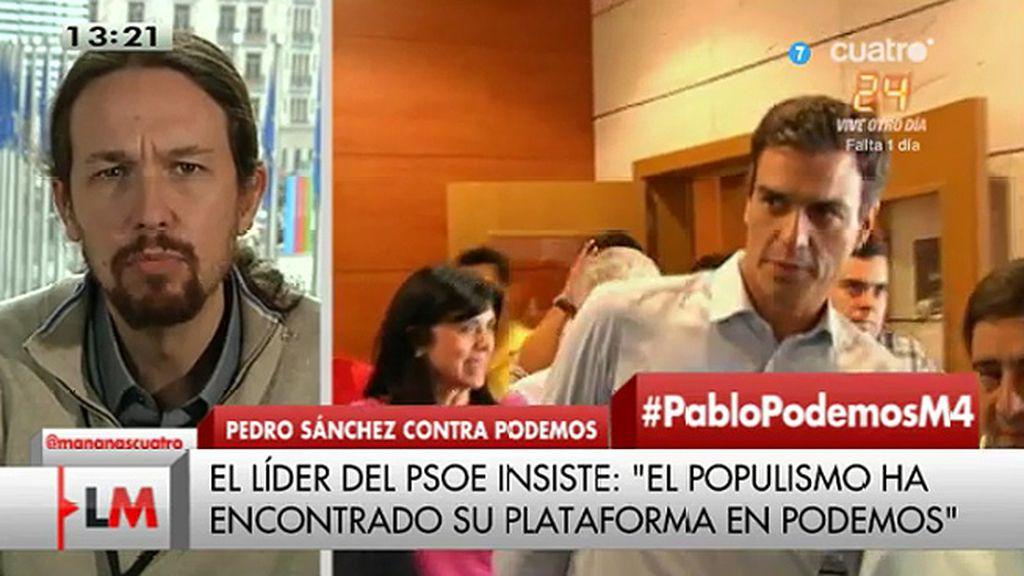 """""""Me encantaría debatir con Rajoy, con Pedro Sánchez pero parece que no se atreven"""""""
