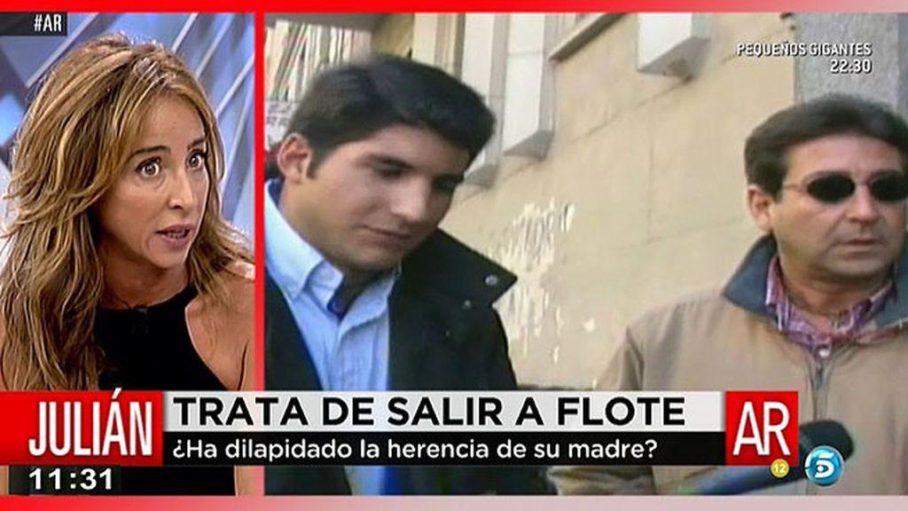 """Patiño: """"Una amiga de la familia me ha confesado que Julián Contrerás le pidió mucho dinero"""""""