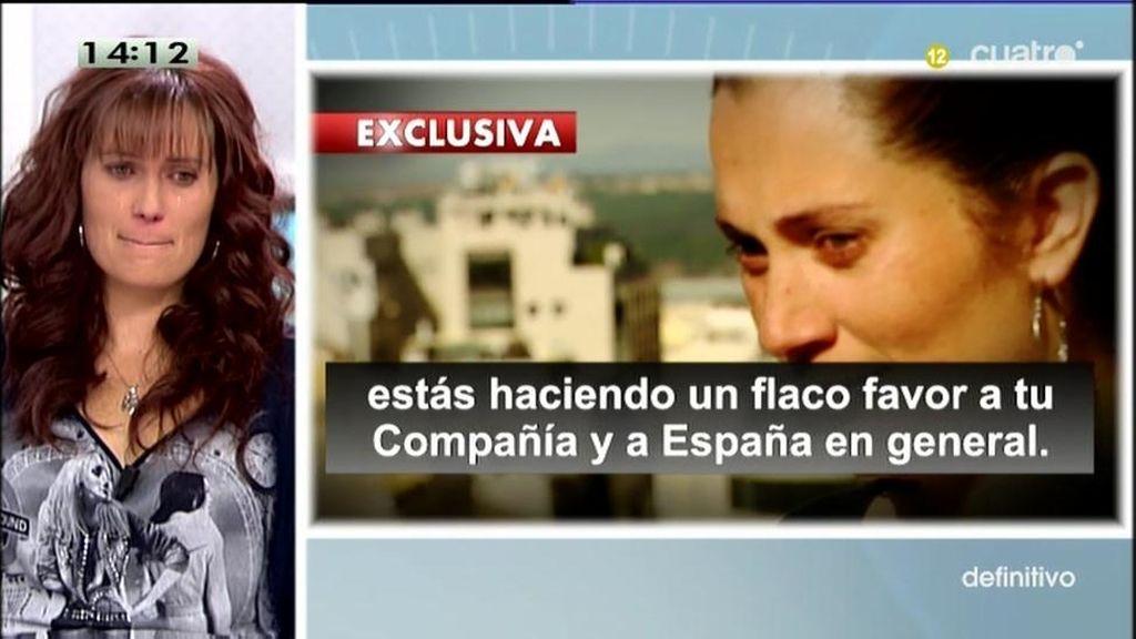 """Davinia Estévez: """"Me he sentido humillada y vejada durante casi un año"""""""