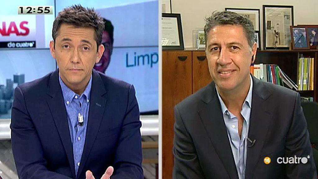 """García Albiol: """"Me presento con el objetivo de convertirnos en la referencia más importante de quienes no son independentistas"""""""