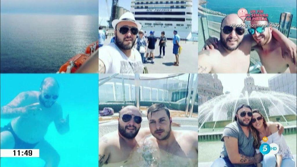 Las 'vacaciones en el mar' de Kiko e Irene