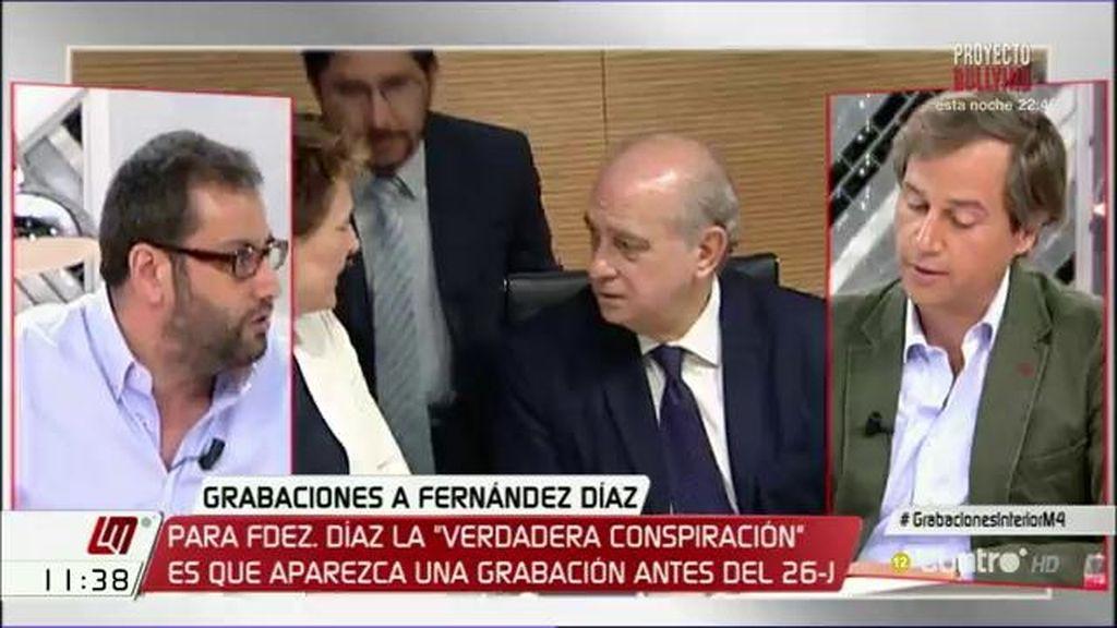 """Ibán García del Blanco: """"Es increíble que en ninguno de los casos el presidente no tuviera conocimiento ni responsabilidad"""""""
