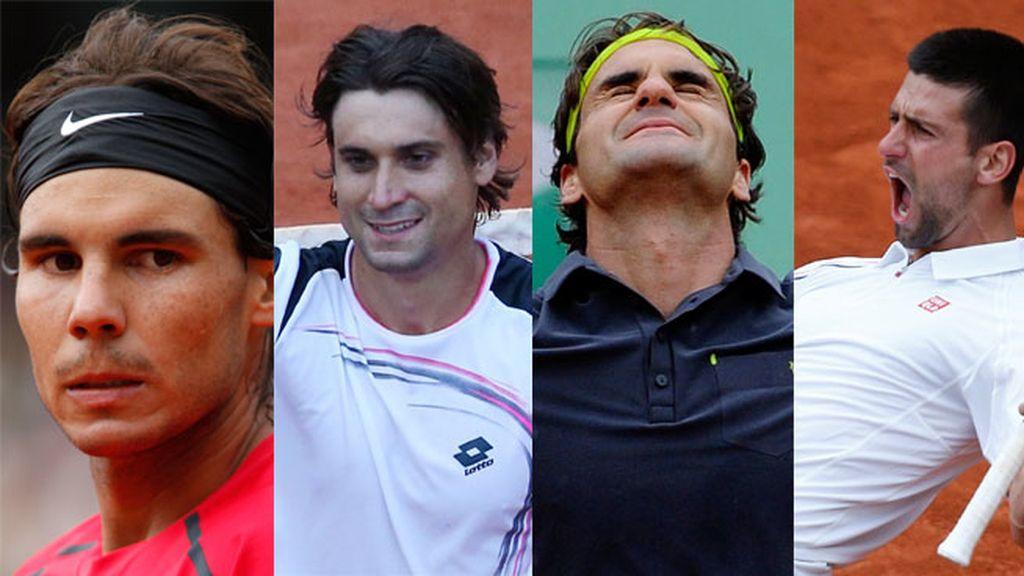 Semifinales Roland Garros 2012