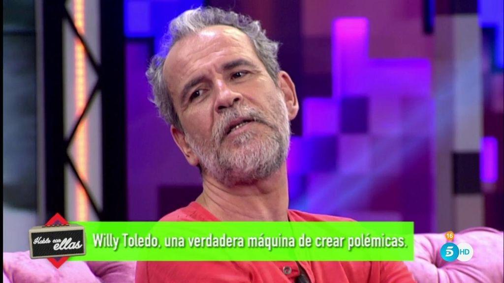 """Willy Toledo critica 'Hable con ellas' y enfada a Sandra: """"¿Te crees que somos idiotas?"""""""