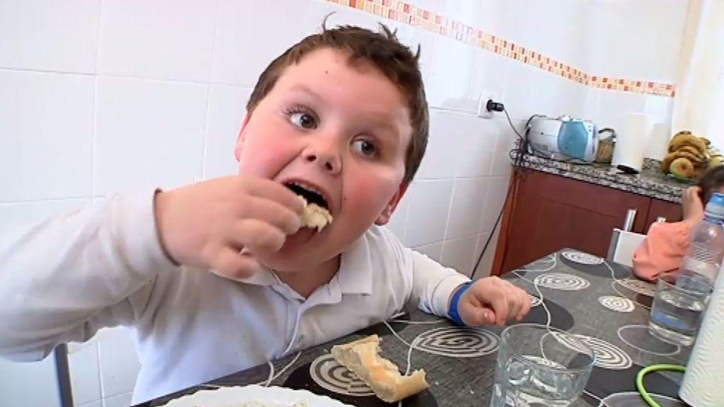 Joel y la comida