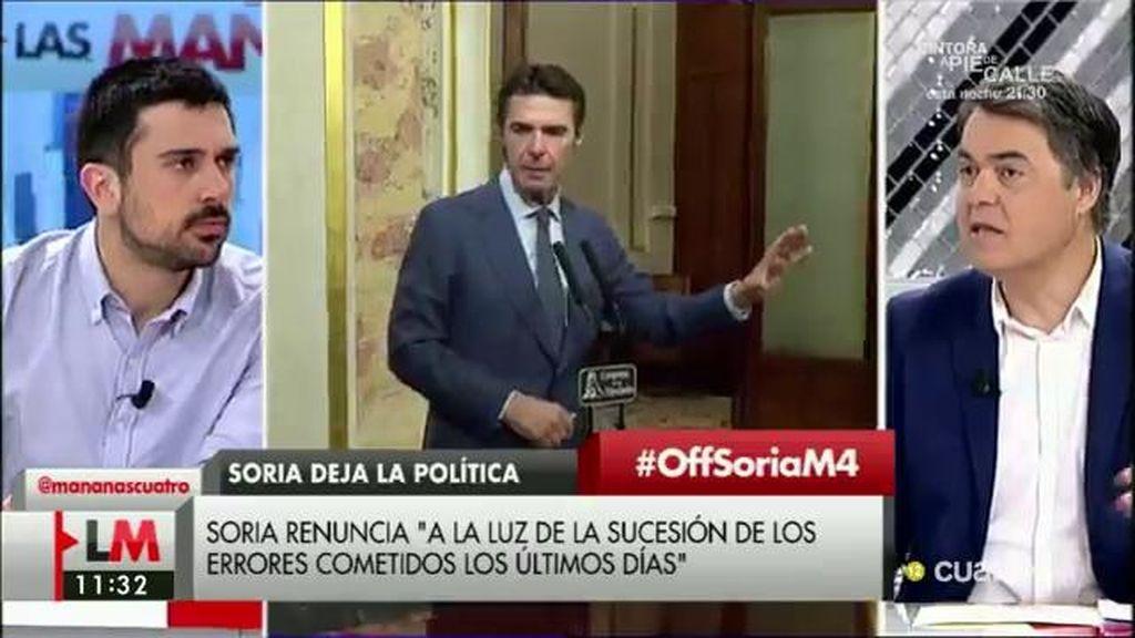 "Ramón Espinar, a Carlos Rojas: ""Sois patriotas de boquilla"""