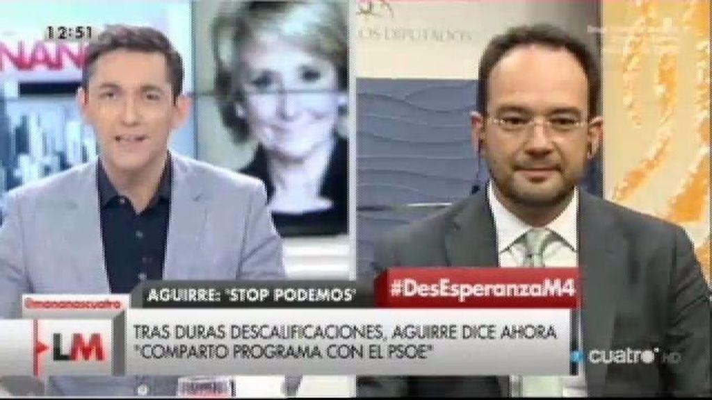 """Hernando: """"Los ciudadanos nos piden dejar de seguir los recortes sociales del PP"""""""