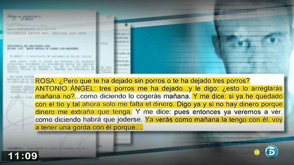 El contenido de las llamadas que Ortiz le hizo a su novia antes de su detención, en 'AR'