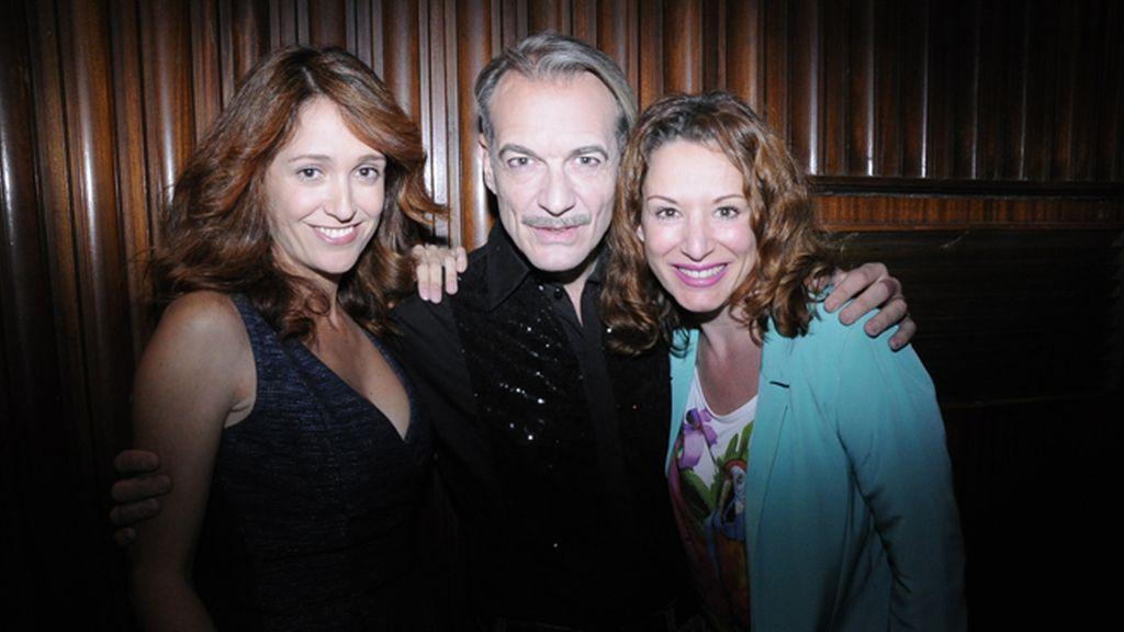 Ana Escribano, Antonio Albella y Eva Almaya