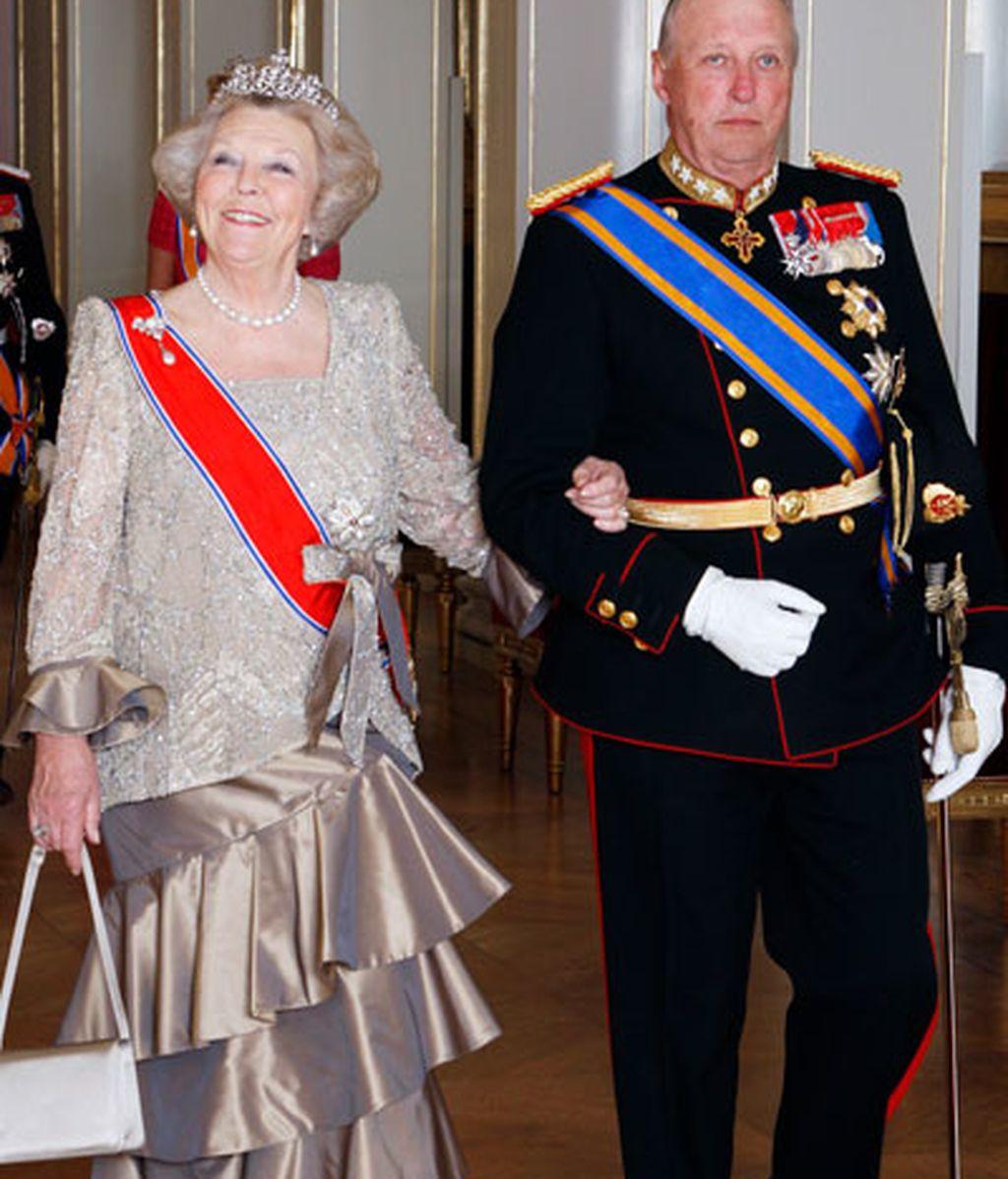 Reyes de Noruega