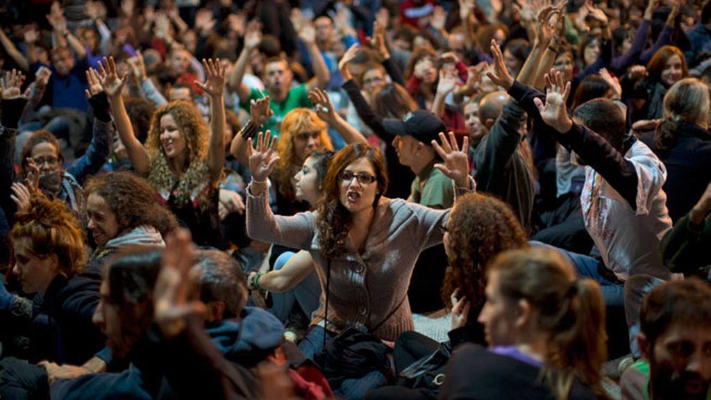 Jornada sin incidentes en la nueva protesta frente al Congreso