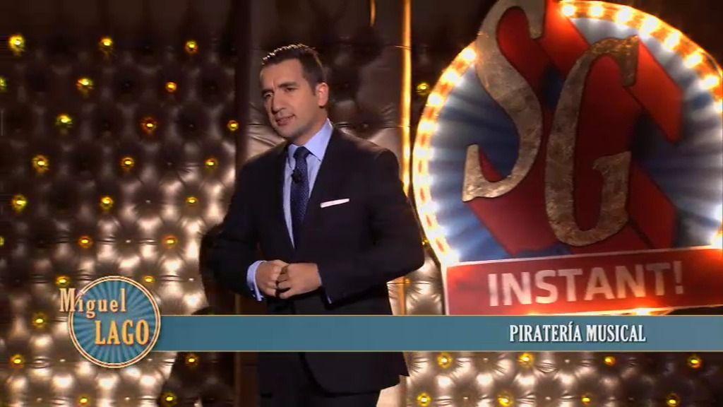 El monólogo de Miguel Lago: 'Piratería musical'