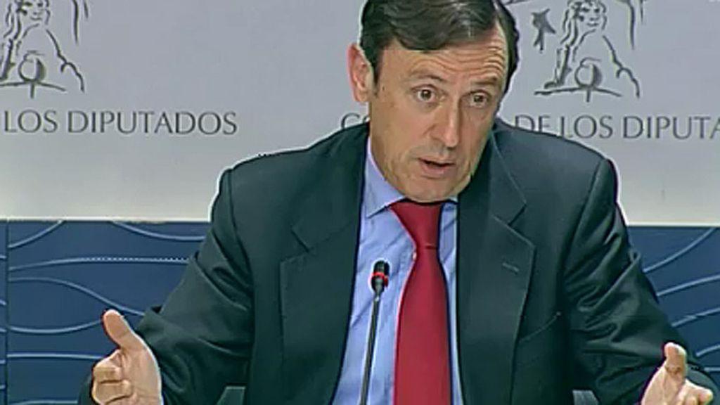 """R. Hernando: """"Los dirigentes de Podemos han sido los niños mimados del chavismo"""""""