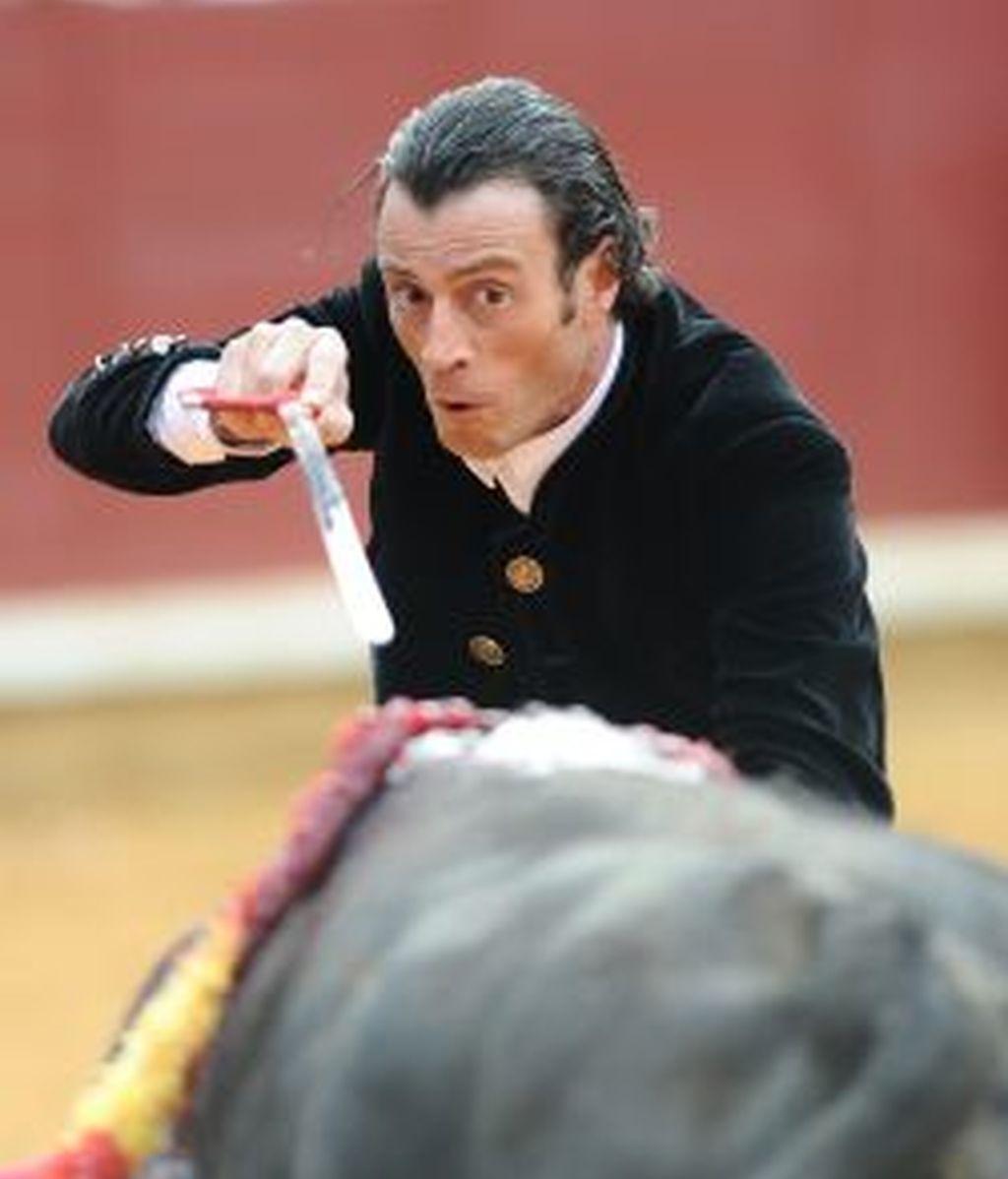 Juan Serrano 'Finito de Córdoba', durante una corrida. Foto: Gtres