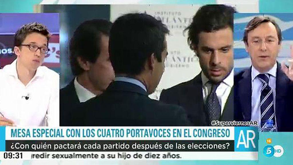"""Hernando:""""Los pactos de los últimos meses son una tomadura de pelo"""""""