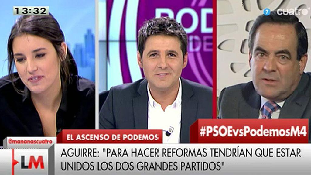 """José Bono: """"Si de mí dependiera, con Esperanza Aguirre no iría ni a misa"""""""