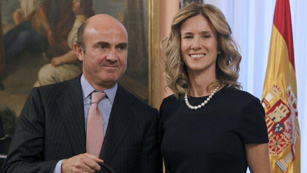 Cristina Garmendia y Luís de Guidos