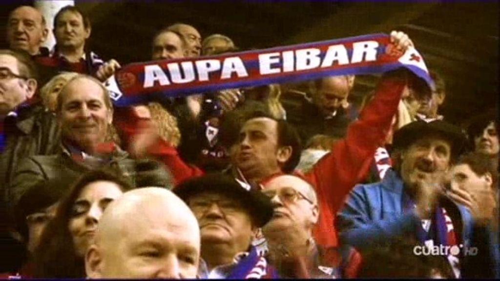 El Eibar baja a Segunda División entre los aplausos de Ipurúa