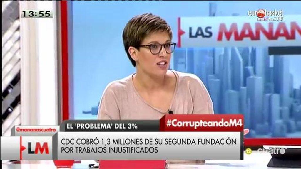 """Beatriz Talegón: """"Nos tenemos que cabrear porque esto es insostenible"""""""
